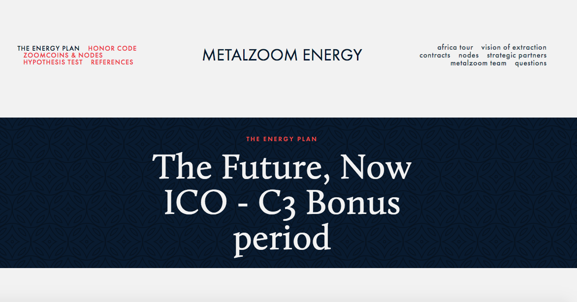 MetalZoom Energy ICO